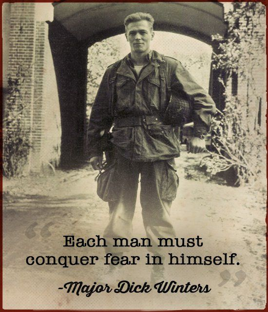 Major Dick Winters Band of Brothers D-Day