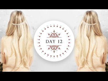 VLOGMAS  Boho Waves Hair Tutorial (Kassinka)