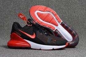 new styles 0bcc0 e91bf New Arrivel Nike Air Max Flair 270 KPU Black Red White Men s Running Shoes  Sneakers