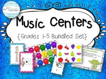 This set has everything you need to get started with centers with first through fifth grade. Each grade-level bundle comes with several different centers, as well as materials and directions for each!