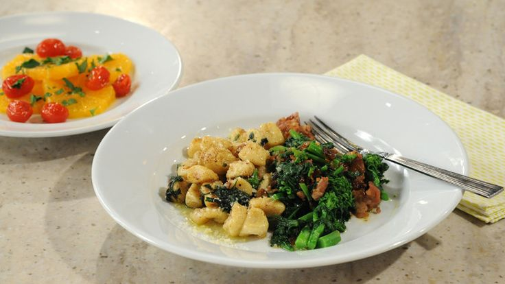 Take pasta night to the next level by making your own homemade pasta. Quick and easy potato gnocchi is the base of this tasty under-$20 meal from TV chef Sarah Mastracco.