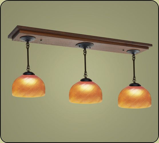 Decorate Your Kitchen Island And Dining Room With Our Craftsman Style Lighting