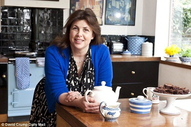 Kirstie Allsopp, pictured above in her Notting Hill home, is a household name for her thri...