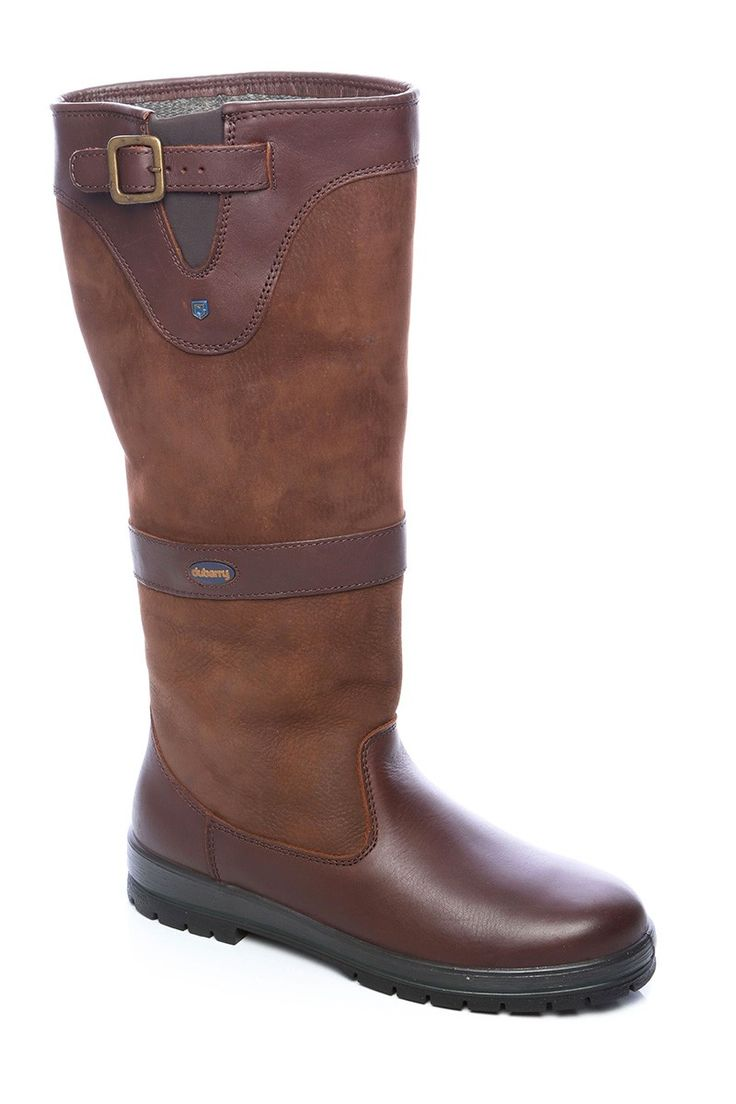Womens Leather Country Boots