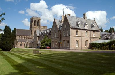 Belmont Abbey In Hereford England Inspiration For