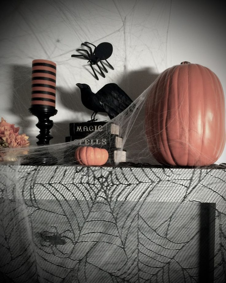 Mantle Decorating 101: Halloween Style | CASA & Company