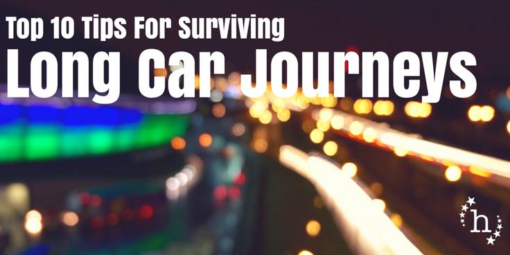 A few pieces of advice from me for how to make it through those long car journeys this summer!