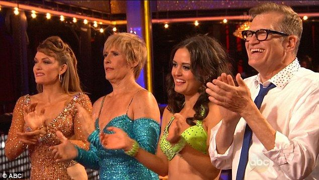 Lending support: Diana Nyad, Danica McKellar and Drew Carey all returned for the big finale