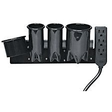 Conair Pro Black Appliance Holder - This would be handy for straightener, curling iron, and blow dryer