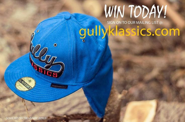 INVITE your friends to LIKE our #Facebook page!! WIN this Gully Klassics winter cap TODAY when you JOIN OUR MAILING LIST.   #freegift #FREE #gullyklassics #websitelaunch #comingsoon #fashion