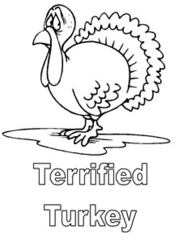 print a free turkey coloring page for the kids to color turkey coloring pages at - Coloring Ws Coloring Pages
