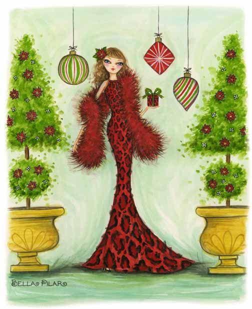Белла пилар открытки, января картинки