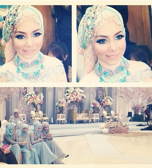 #hijab #wedding #brides