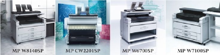 With the launch of four new models in wide-format printers' category –RICOH MP W7100SP, RICOH MP W8140SP, RICOH MP W6700SP and RICOH MP CW2201SP– Ricohaimsto provide customers affordable printing with excellent print quality, besides enhancing usability, collaboration and efficiency. These printers are ideal for Print-for-pay (PFP) environments and Central Reprographics Departments (CRD) at large manufacturers, as they combine high volume and high speed capability