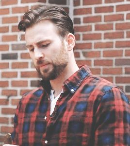 chris evans beard — chris evans lumberjack aesthetic