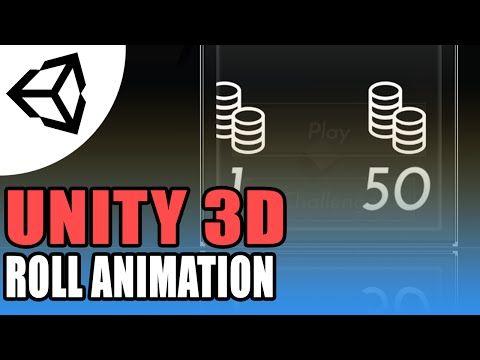 Unity 5 Animation roll - Unity 3D[Tutorial][C#]   Unity