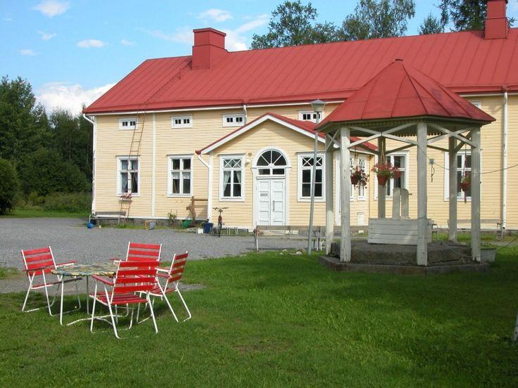 Vanhan Vaasan pappilan päärakennus. Kuva Christine Bonn 2005.