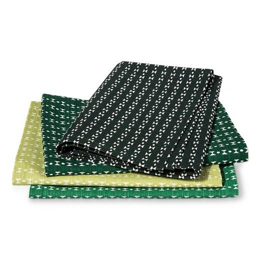 Green Tropical Napkins - Threshold™ : Target