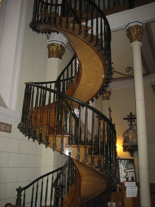 The Miracle Staircase Of Loretto Chapel Http En