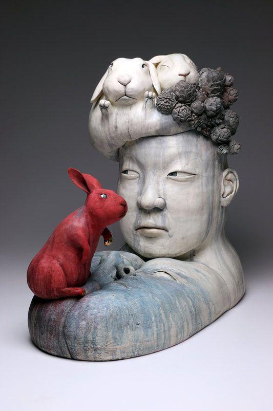 Best sculpture images on pinterest ceramic