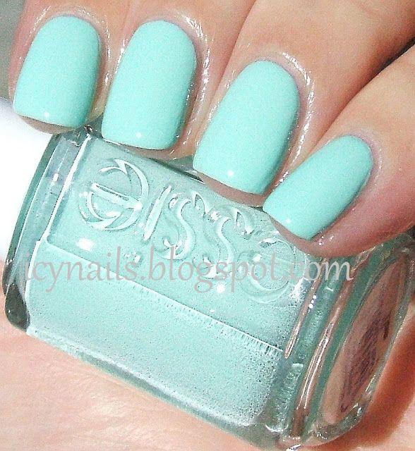 Essie-Mint Candy Apple: Nail Polish, Color, Makeup, Essie Mint Candy Apple, Nails, Mint Nail, Mint Candy Apples, Nail Art