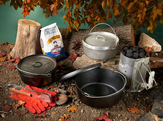 Dutch oven cooking...getting started guide.  My husband makes the best dutch oven potatoes.  And a great desert - dutch oven cake, when we go Camping.  Actually sometimes in our driveway...we have dutch oven cooking at home.