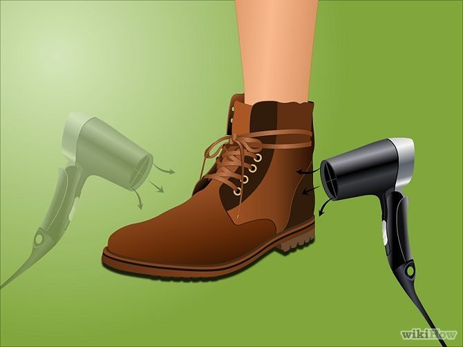 How to Stretch Leather Boots