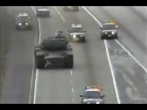 The Day A Man Stole A Patton Tank And Took It On A Rampage Of San Diego - https://www.warhistoryonline.com/war-articles/patton-tank-rampage-of-sandiego.html
