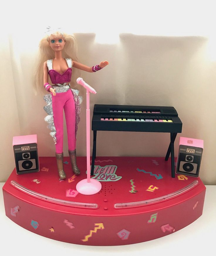 Vintage Steffi Love in Concert Doll 1990's Hasbro Simba Toys | eBay