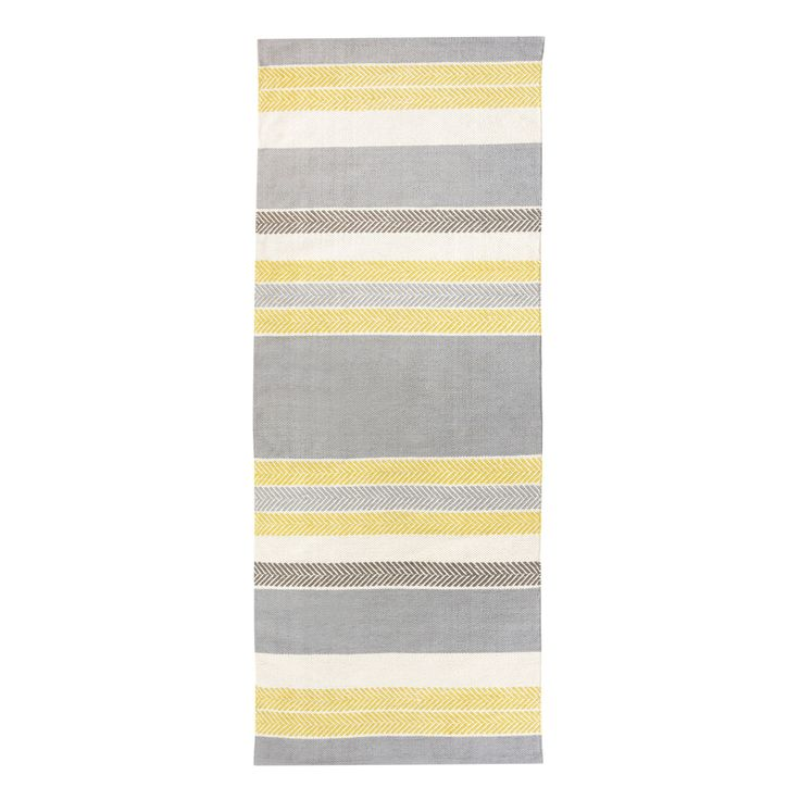 Vallila Marjaniemi Yellow & Grey Runner