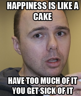 Karl Pilkington. An Idiot Abroad. Love this show! xD