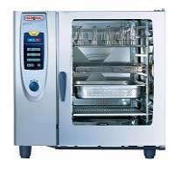 Catering kitchen - Rational Combi Oven SCC 102G. I have three of these in my banquet kitchen and I swear they are magic!!!!