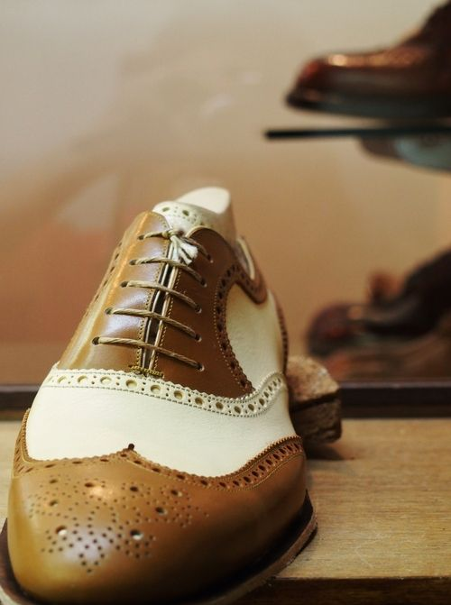 Spectator Shoes:Bolero Bespoke shoe & Bootmaker