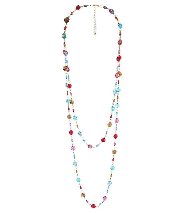 Colorful Bead Necklace | FOREVER21 - 1017307751