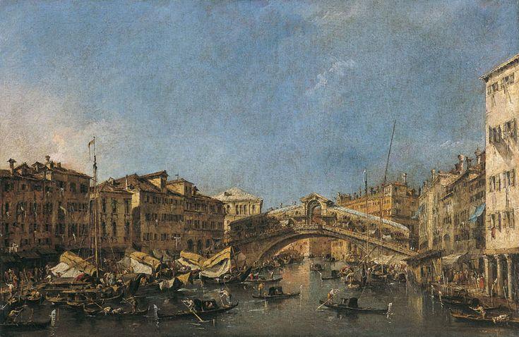 Pont Rialto, 1715 - 1775 - Francesco Guardi