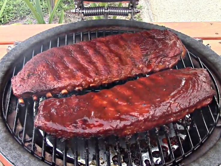 Texas Style BBQ Pork Spare Ribs - On The Grill Dome Recipe by Smoky.Ribs | iFood.tv