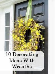 10 creative wreath ideas! So fun :)