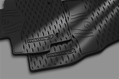 MAZDA 3 & SPEED 3 2009-2013 NEW OEM RUBBER ALL WEATHER FLOOR MATS 0000-8B-L60