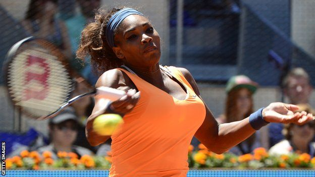 World number one Serena Williams beats Maria Sharapova in the Madrid Open final to win her 50th career singles title. (via BBC News)