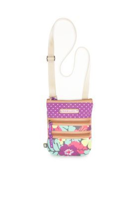 Lily Bloom  Eva Multi Section Crossbody - Tropical Pop Floral - One Size