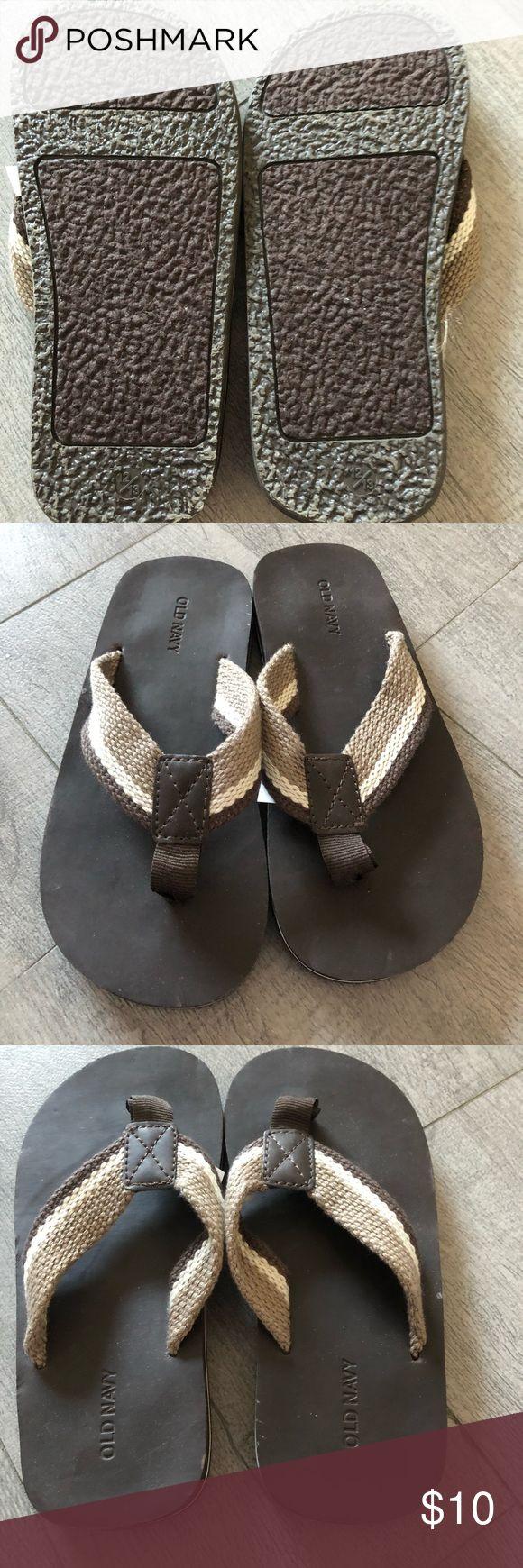Toddler Flip Flops Never worn Old Navy Flip Flops. Brand new condition! Old Navy Shoes Sandals & Flip Flops