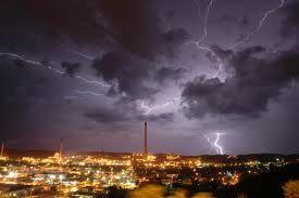 Mount Isa Lightning Storms