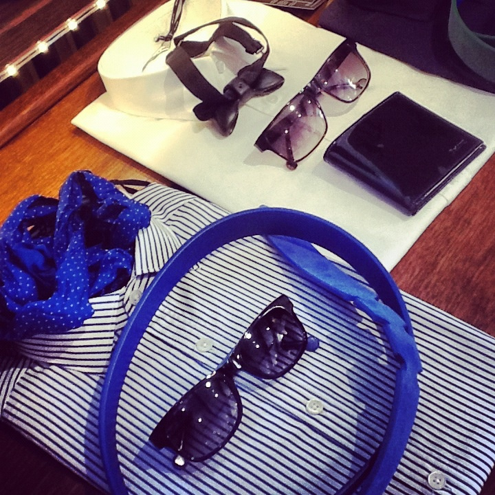Shirt Italia Independent and Vanni's sunglasses