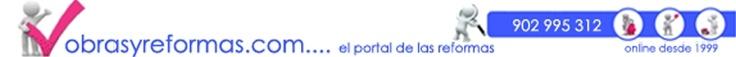 Obras y reformas. Portal de reformas en general, reformas de pisos, locales comerciales y oficinas..