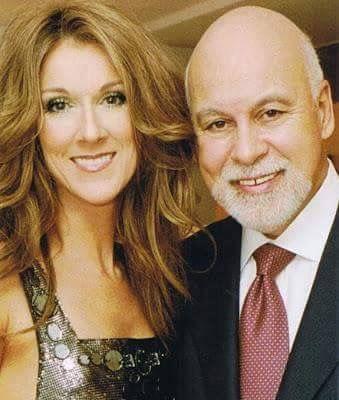 Céline Dion et René Angélil ☝️✌️