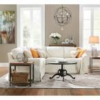Home Decorators Collection Industrial 36 in. Round Adjustable Height Natural Reclaimed Coffee Table 1833600950 at The Home Depot - Mobile