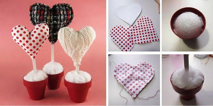 Оригинальные подарки на День Святого Валентина своими руками