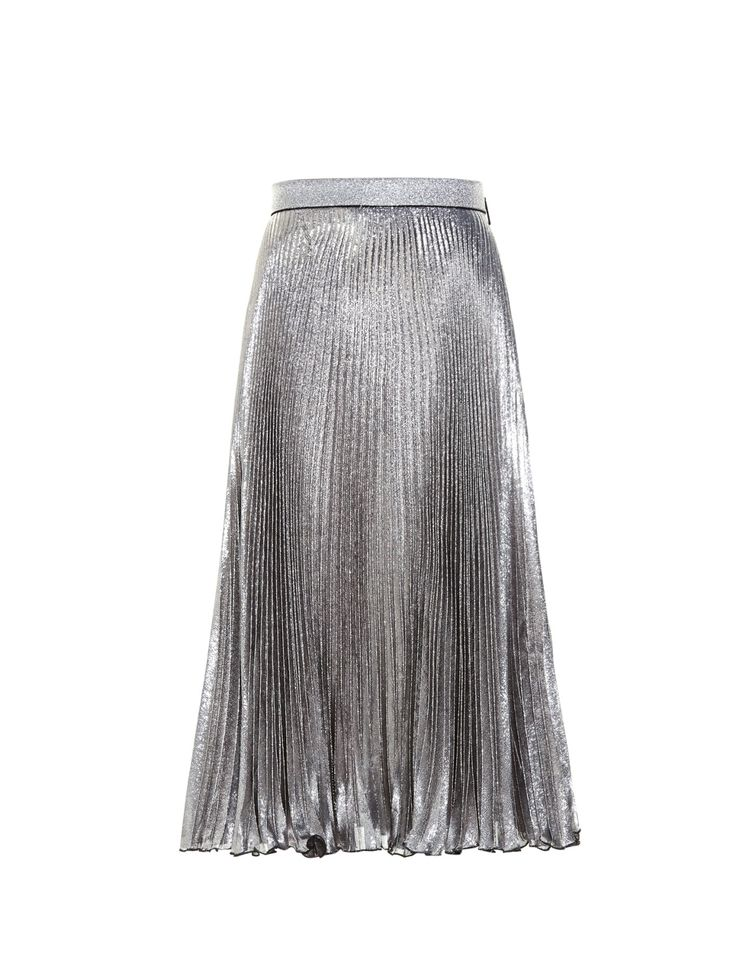 SEA Blanket-stripe midi skirt