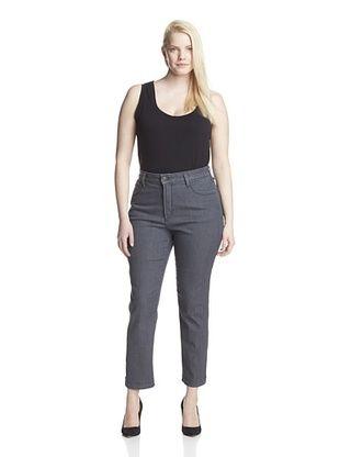 65% OFF NYDJ Women's Plus Audrey Ankle Jean (Brooklyn Wash)