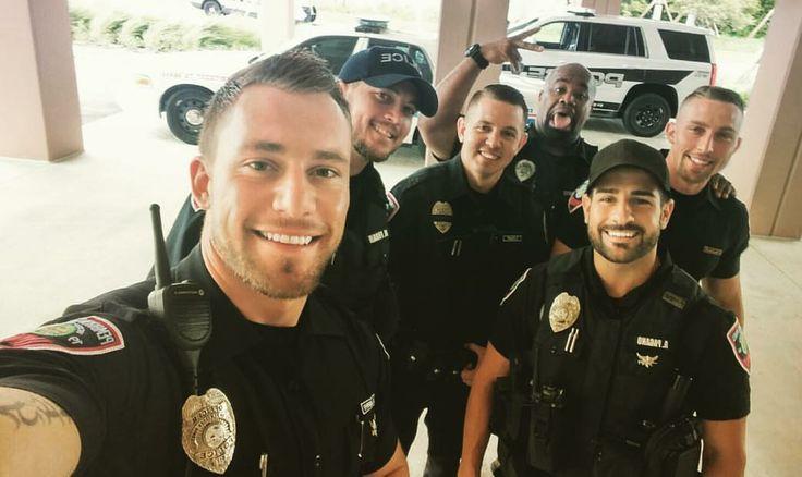 "coparrest: ""Florida cops doing their best during Hurricane Irma. Great job guys! Oh, and it doesn't hurt that every single one of these cops is freaking HOT! """